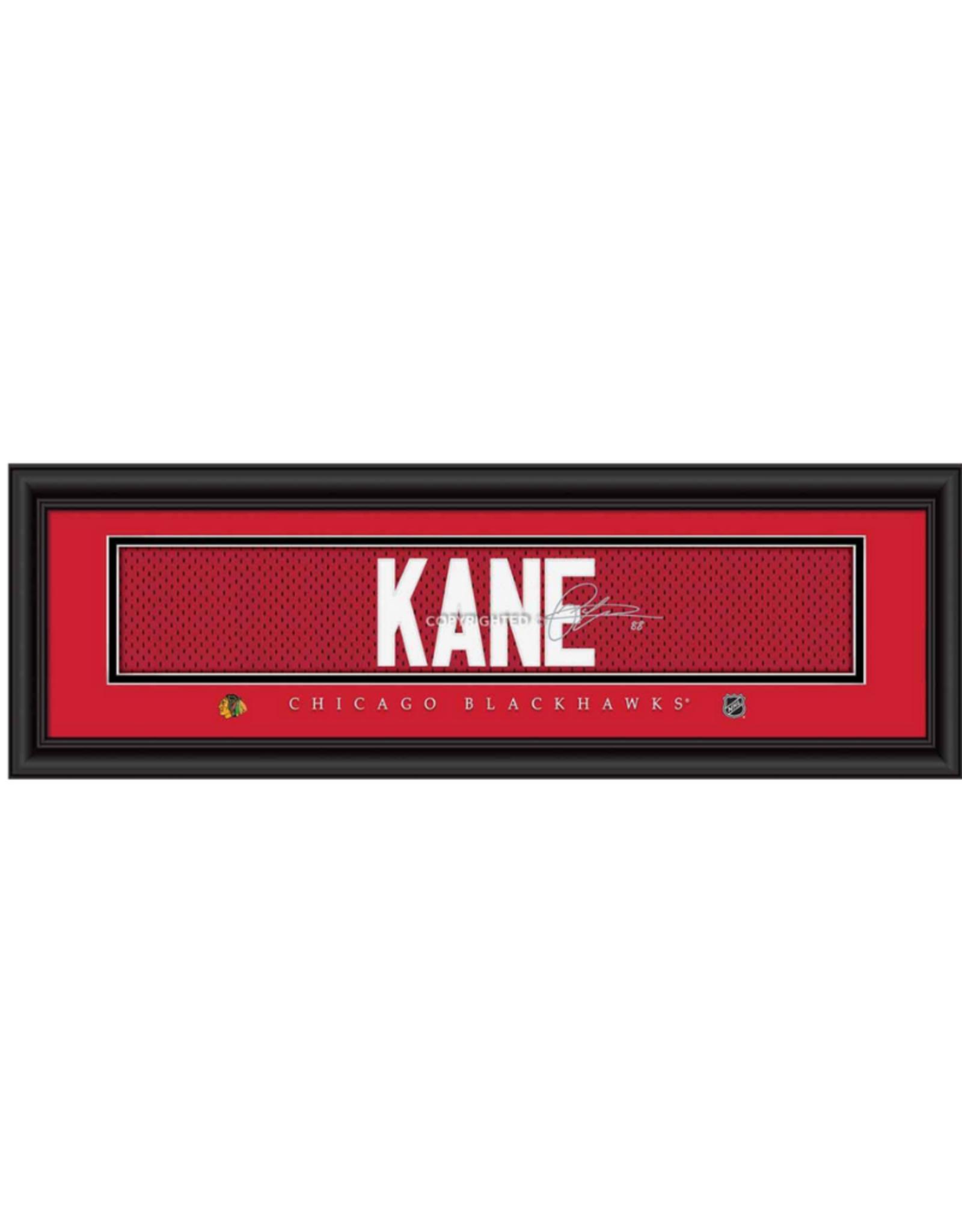 Framed Signature Nameplate Patrick Kane Chicago Blackhawks
