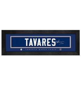 Framed Signature Nameplate John Tavares Toronto Maple Leafs