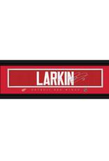 Framed Signature Nameplate Dylan Larkin Detoit Red Wings