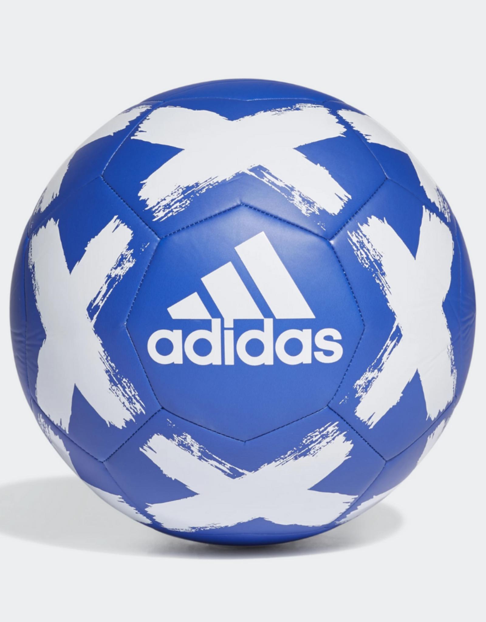 Adidas Adidas Starlancer Club Soccer Ball Blue/White