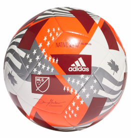 Adidas Adidas 2021 MLS Club Soccer Ball Size 5 Red/White