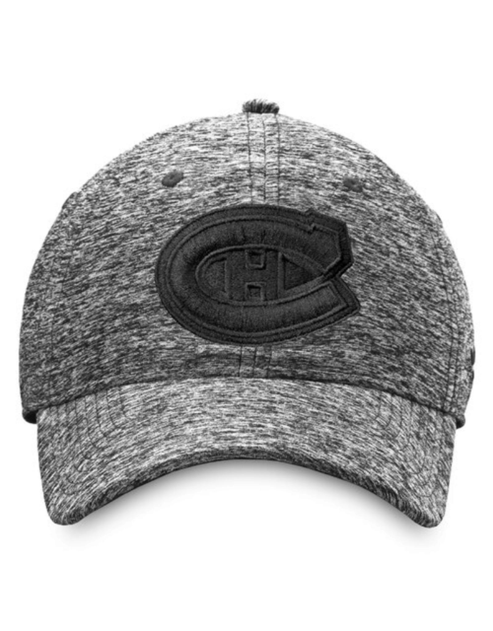 Fanatics Fanatics Men's Black Ice Adjustable Hat Montreal Canadiens Black