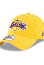 New Era Men's Core Classic 2 Adustable Hat Los Angeles Lakers Yellow