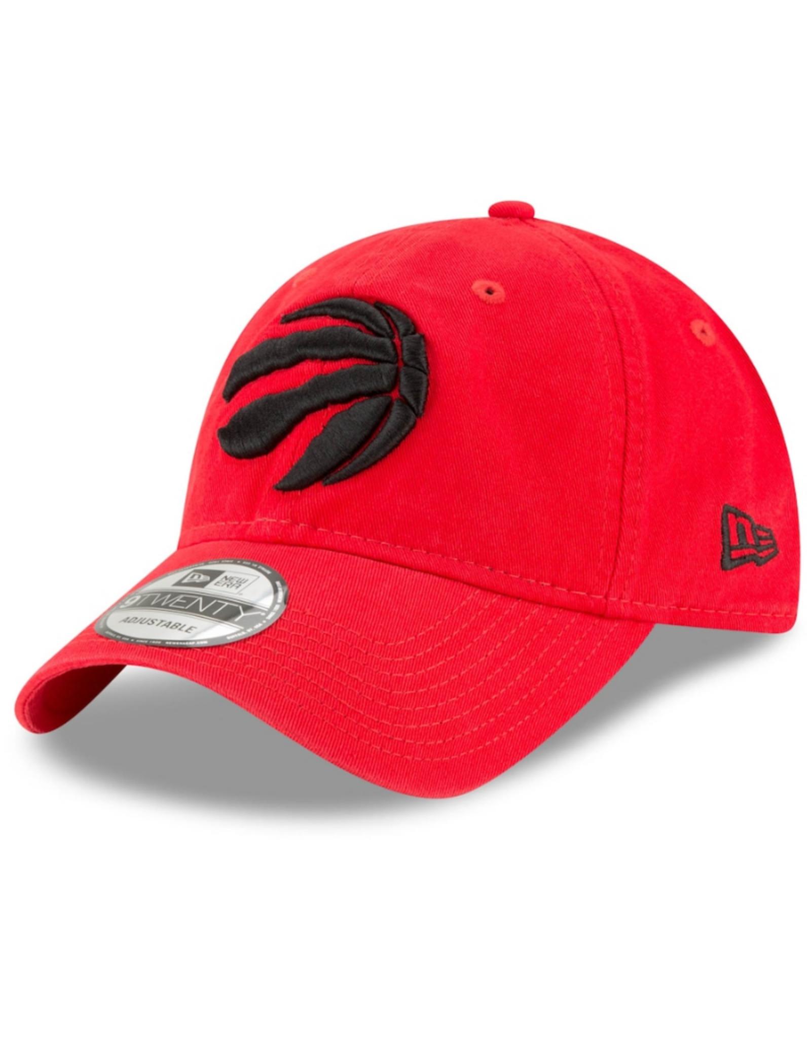 New Era Men's Core Classic 2 Adustable Hat Toronto Raptors Red