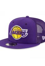 New Era Classic Trucker C1 Adjustable Hat Los Angeles Lakers Purple
