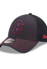 New Era Men's 39THIRTY Team Neo C1 Hat Boston Red Sox Navy