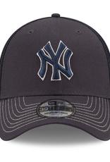 New Era Men's 39THIRTY Team Neo C1 Hat New York Yankees Navy