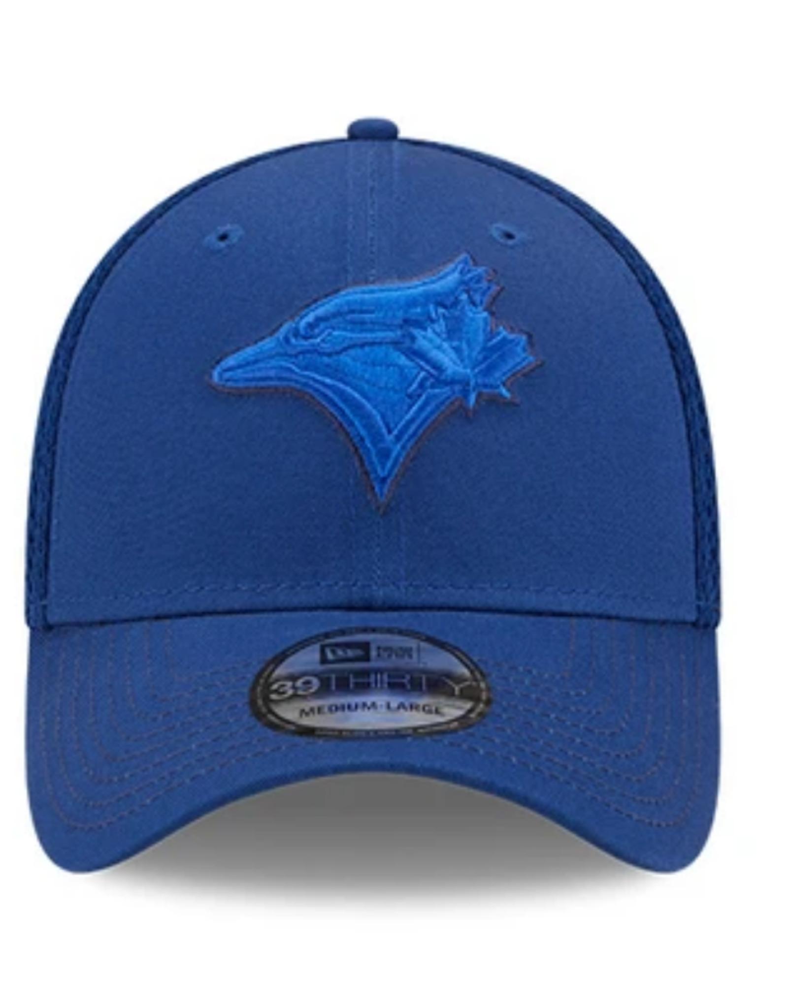 New Era Men's 39THIRTY Team Neo C1 Hat Toronto Blue Jays Blue