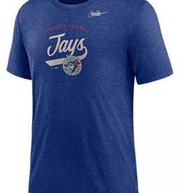 Nike Men's Cooperstown Nickname T-Shirt Toronto Blue Jays Blue