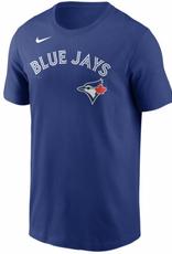 Nike Men's Wordmark T-Shirt Toronto Blue Jays Royal