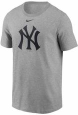 Nike Men's Large Logo T-Shirt New York Yankees Grey