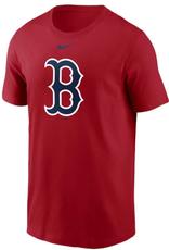 Nike Men's Large Logo T-Shirt Boston Red Sox Red