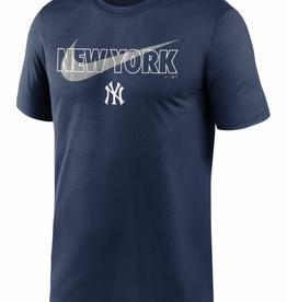 Nike Men's City Swoosh T-Shirt New York Yankees Navy