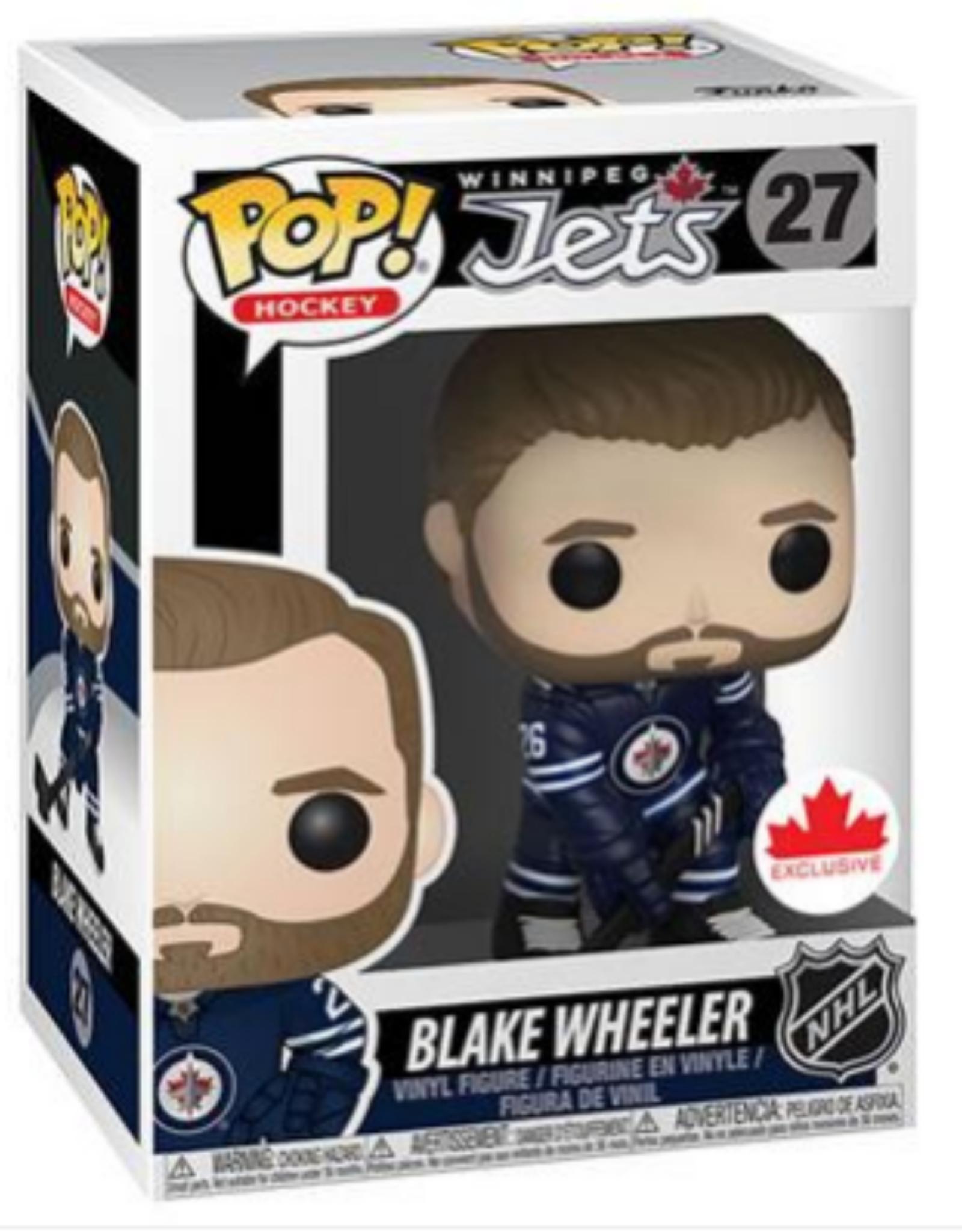 Funko POP! Figure Blake Wheeler Winnipeg Jets Navy