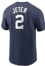 Nike Men's Cooperstown Jeter #2 T-Shirt New York Yankees Navy