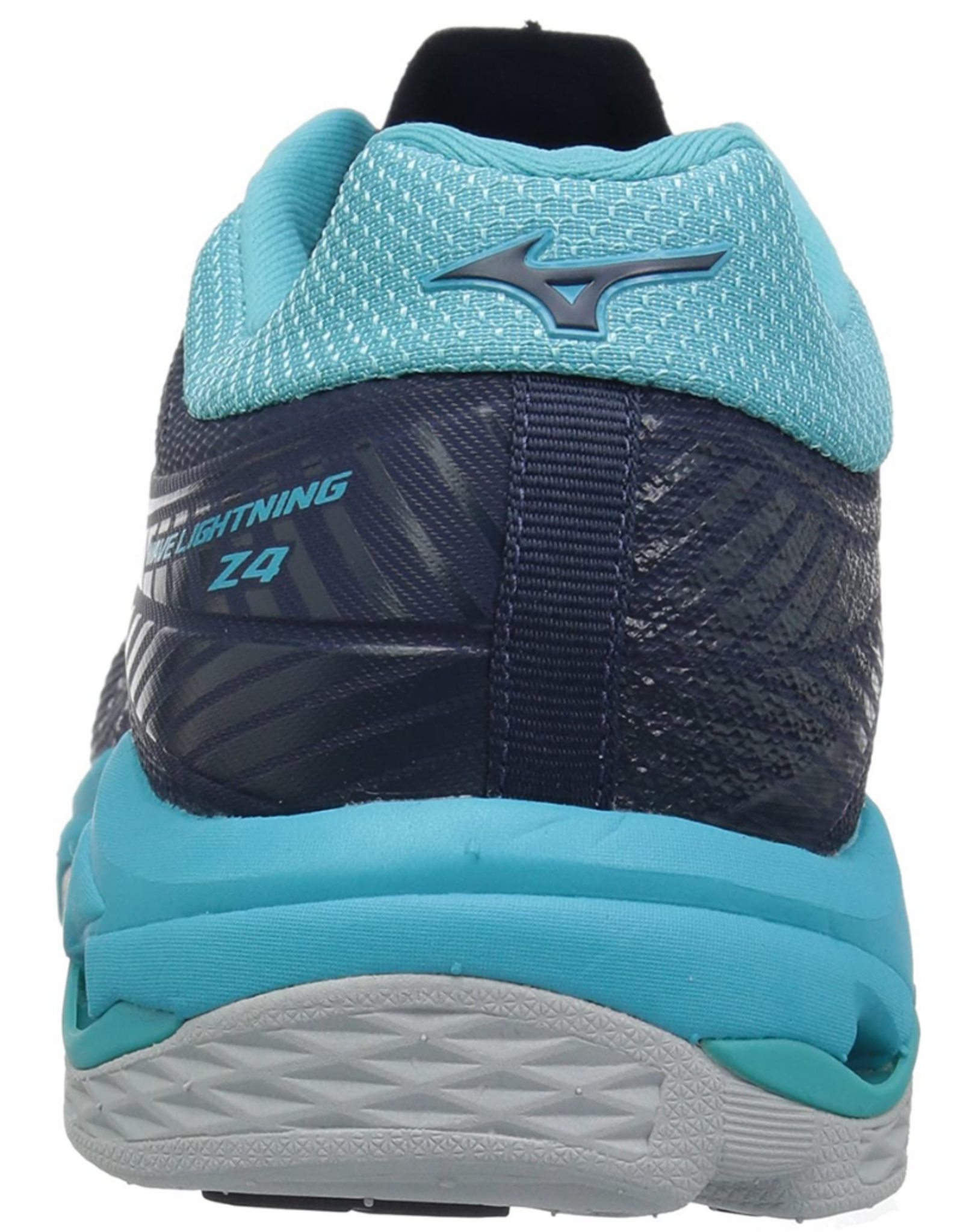 Mizuno Women's Wave Lightning Z4 Volleyball Shoes Navy/Teal