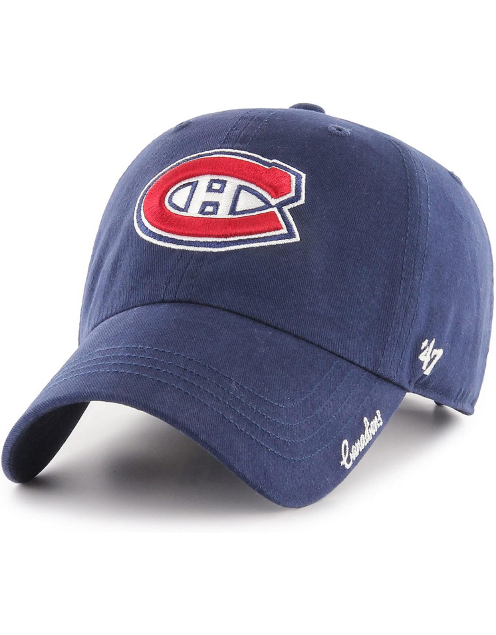 '47 Women's Miata Clean Up Adjustable Hat Montreal Canadiens