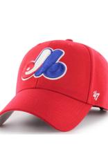 '47 Men's MVP Adjustable Hat Montreal Expos Red