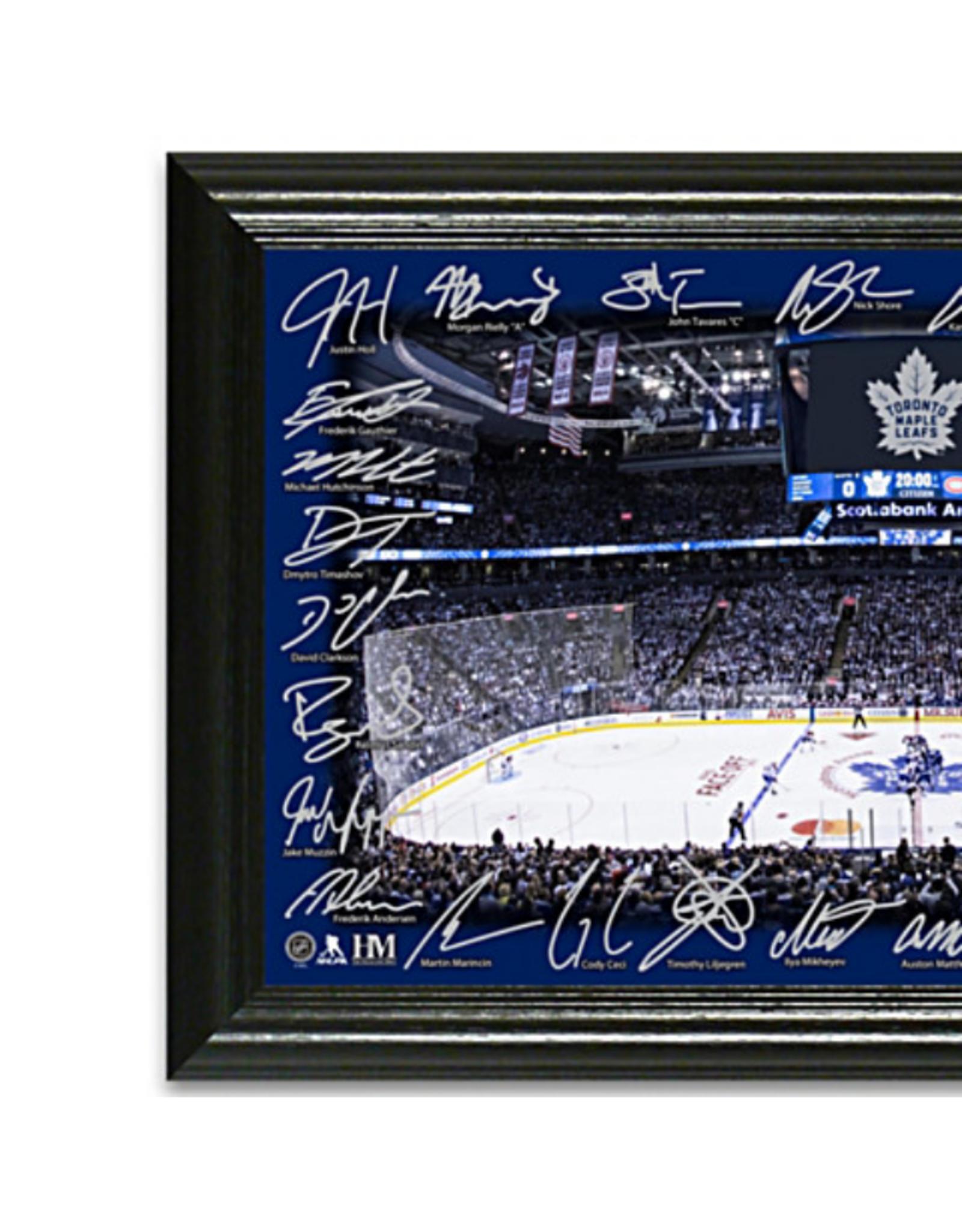 Highland Mint Highland Mint Rink Signature Photo Toronto Maple Leafs
