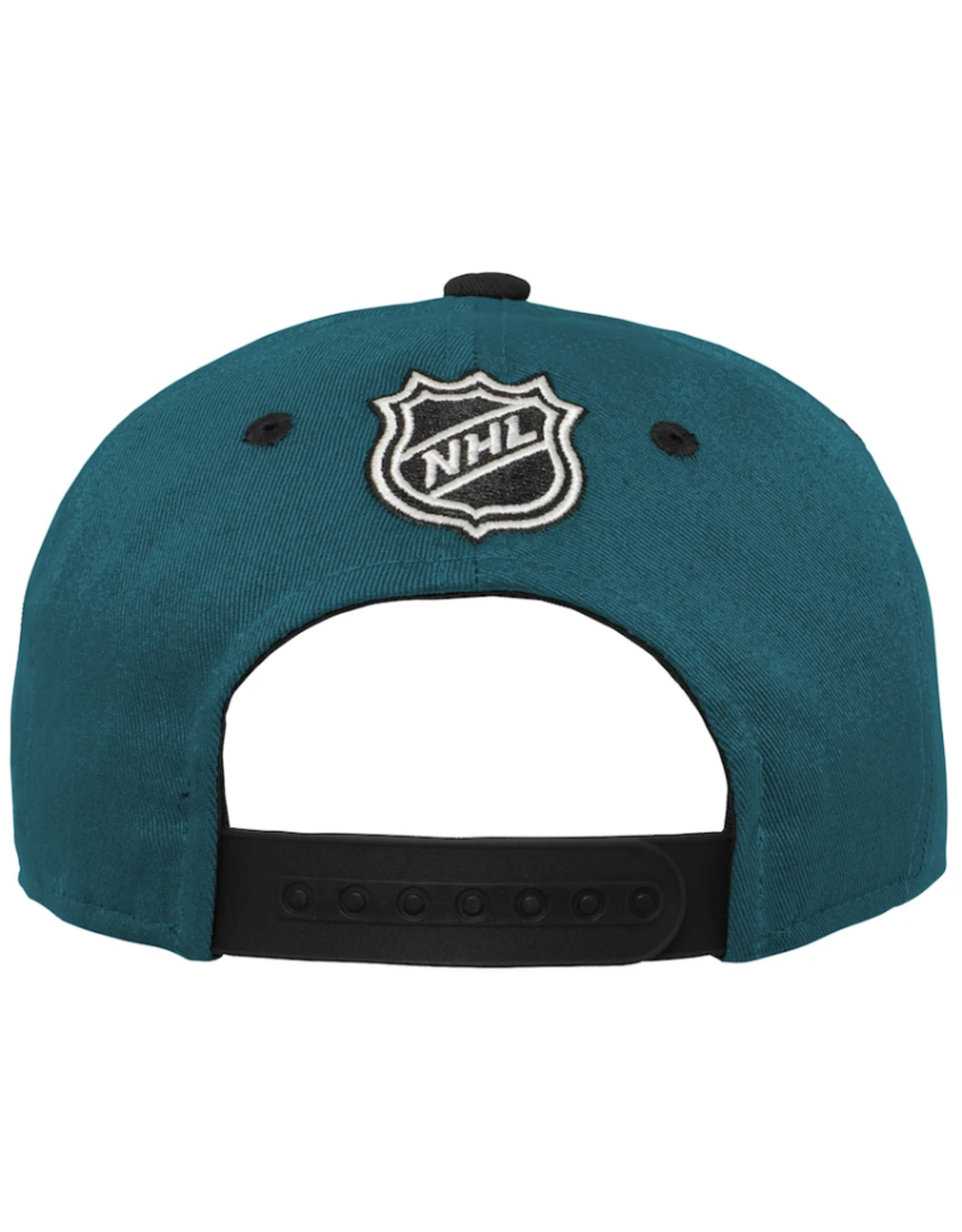 NHL Youth Structured Snapback Anahiem Mighty Ducks Green