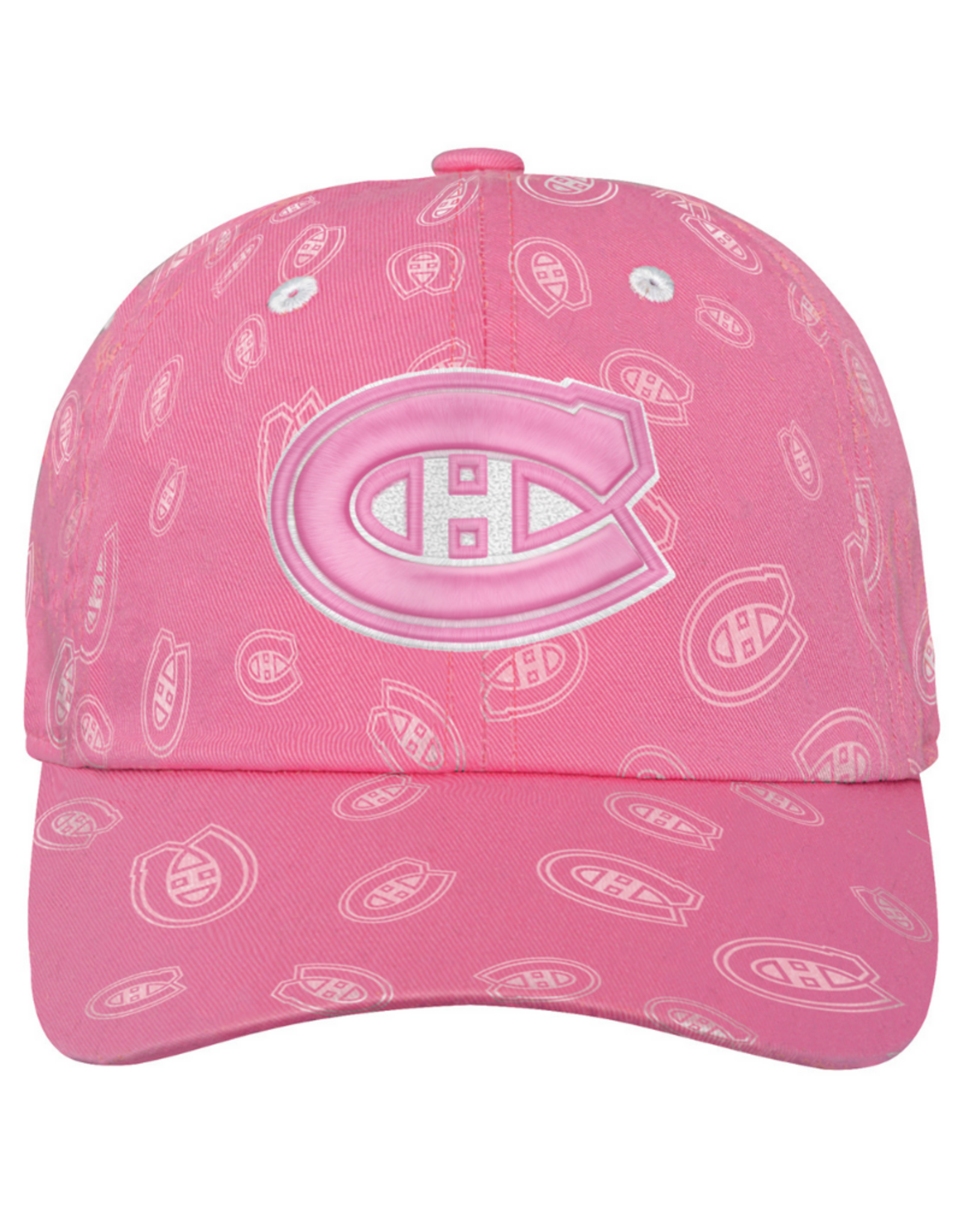 NHL Youth Pink Fashion Hat Montreal Canadiens