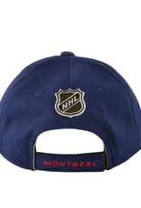 NHL Youth Rinkside Alpha Hat Montreal Canadiens Navy