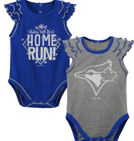 MLB Newborn Shining All Star 2 Pack Creeper Toronto Blue Jays