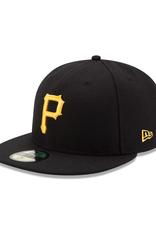 New Era On-Field Home Pittsburgh Pirates Black