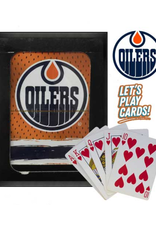 The Sports Vault Playing Cards Edmonton Oilers