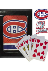 The Sports Vault Playing Cards Montreal Canadiens