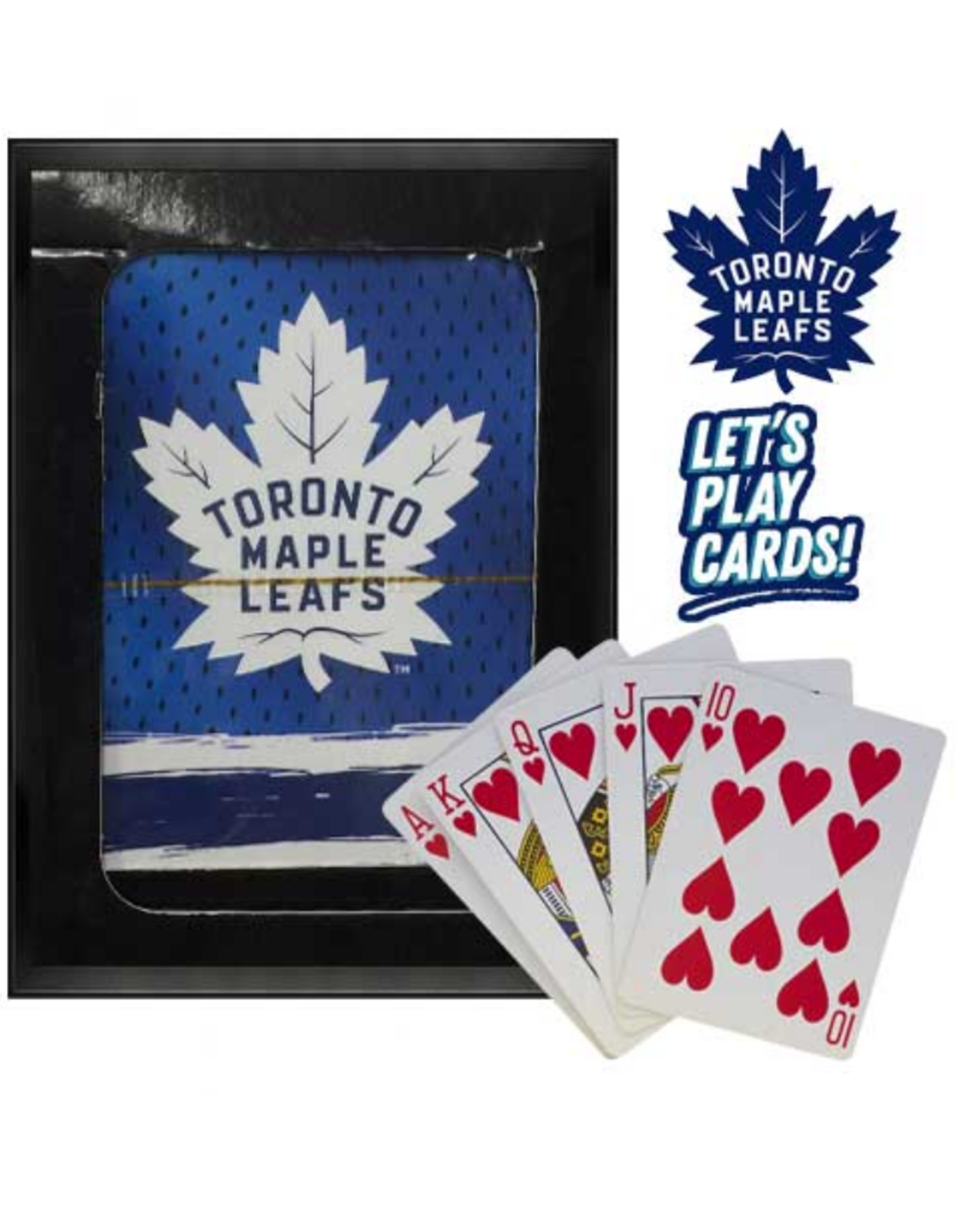 The Sports Vault Playing Cards Toronto Maple Leafs