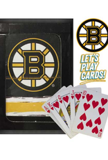 The Sports Vault Playing Cards Boston Bruins