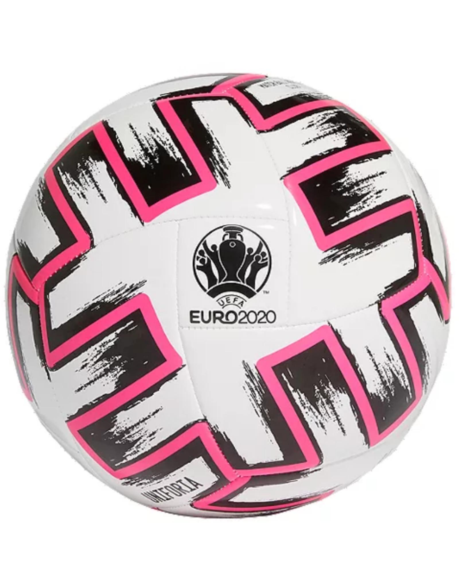 Adidas Adidas Euro 2020 Uniforia Club Soccer Ball Size 5 White/Pink