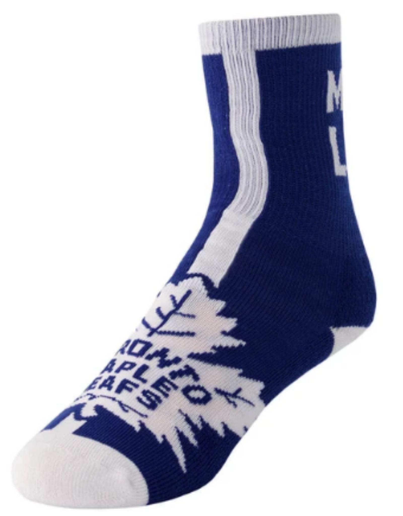 FBF Adult Socks 2 Pack Toronto Maple Leafs