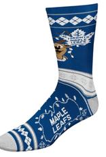 FBF NHL Christmas Socks Toronto Maple Leafs L