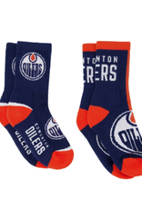 FBF Youth Socks 2 Pack Edmonton Oilers