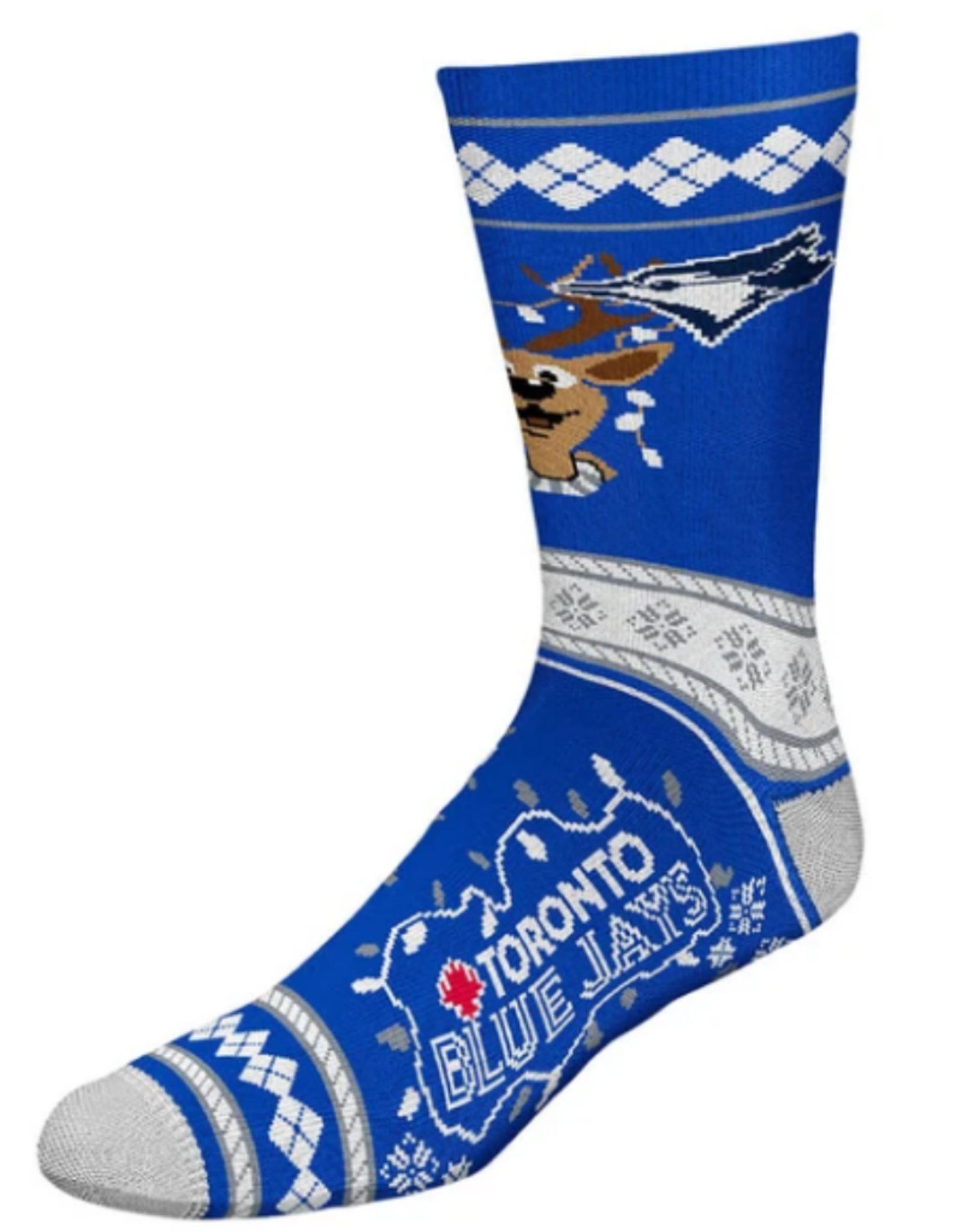 FBF MLB Christmas Socks Toronto Blue Jays L