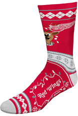 FBF NHL Christmas Socks Detroit Red Wings L