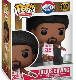 Funko POP! Figure Julius Erving New York Nets White