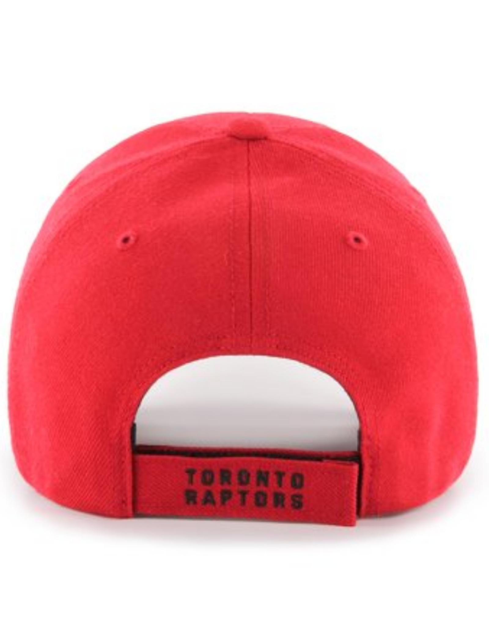'47 Men's MVP Primary Logo Adjustable Hat Toronto Raptors Red