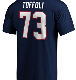 Fanatics Fanatics Men's Player T-Shirt Toffoli #73 Montreal Canadiens Navy