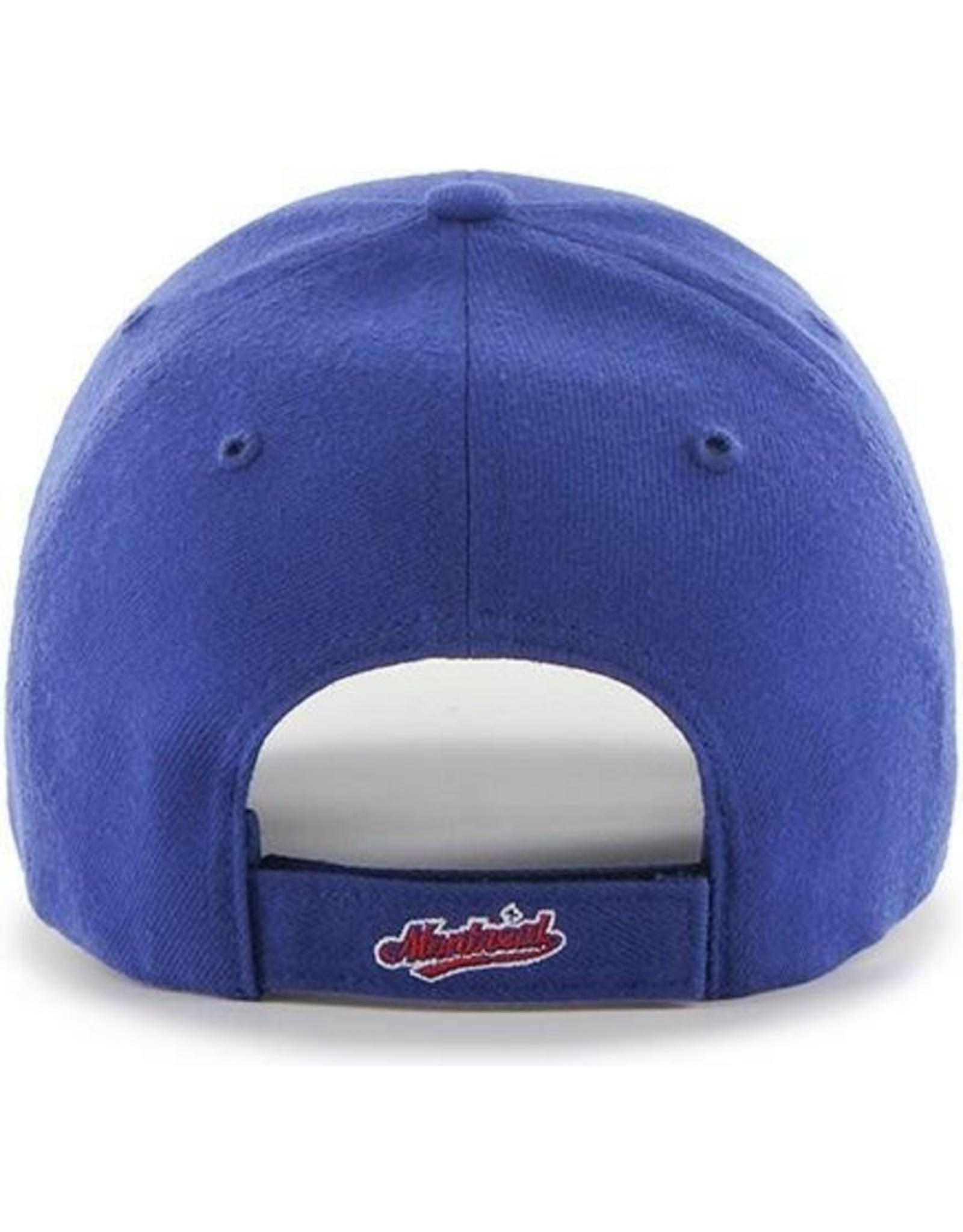 '47 Men's MVP Adjustable Hat Montreal Expos Blue