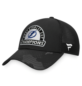 Fanatics Fanatics '21 Stanley Cup Champs Adjustable Hat Tampa Bay Lightning