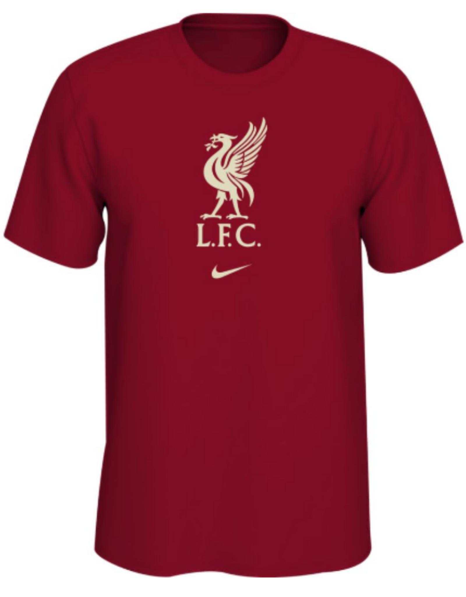 Nike Men's Evergreen Crest T-Shirt Liverpool Red