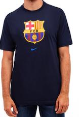 Nike Men's Evergreen Crest T-Shirt Barcelona navy