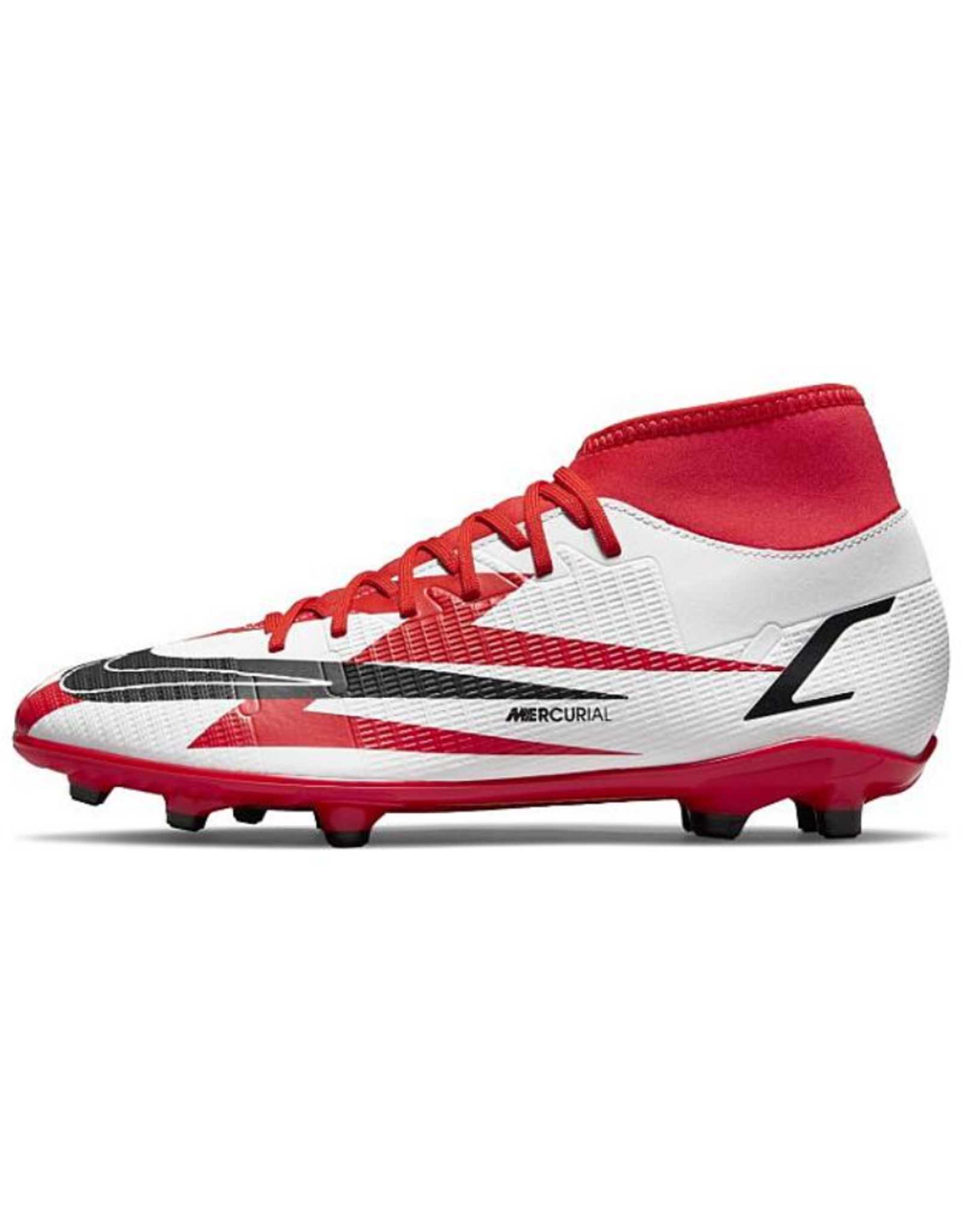 Nike Mercurial Superfly 8 Club CR7 Multi-Ground Soccer Cleat Red/White