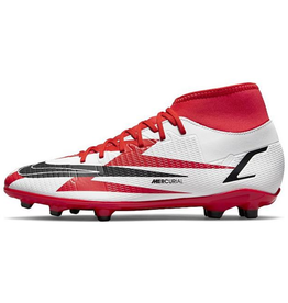 Nike Superfly 8 Club CR7 FG/MG Soccer Cleat Red/White