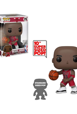 "Funko POP! Figure 10"" Super Sized Michael Jordan Chicago Bulls Red Jersey"