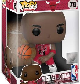 "Funko POP! Figure 10"" Michael Jordan Bulls Red Jersey"