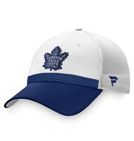 Fanatics Fanatics Men's '21 Draft Hat Adjustable Toronto Maple Leafs White